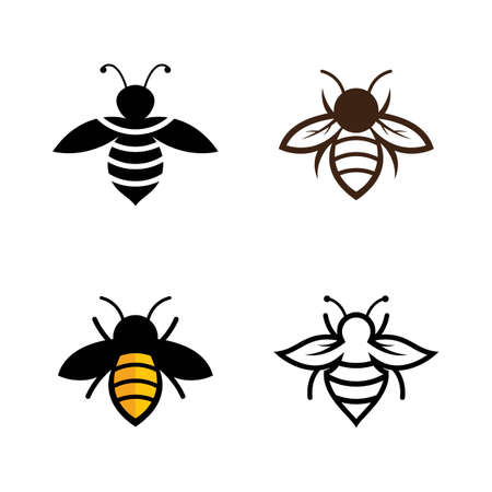 Bee images design illustration