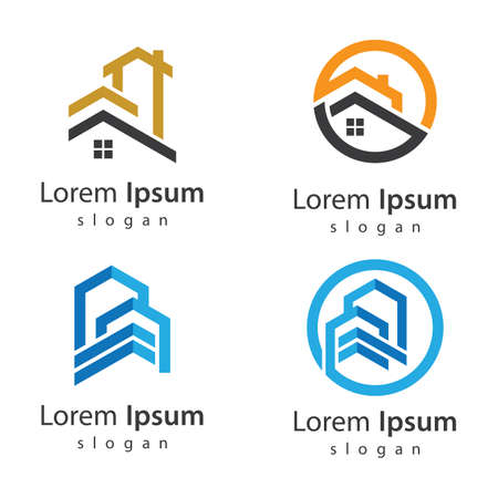 House logo images illustration design