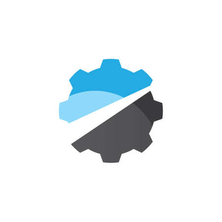 Gear logo images illustration design Иллюстрация