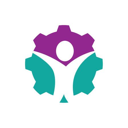 Wellness logo images design illustration