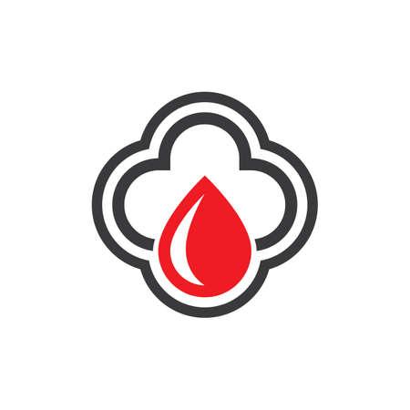 Medical care logo images illustration design Иллюстрация