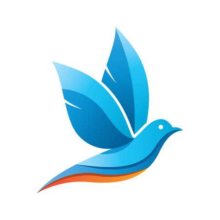 Dove logo images illustration design