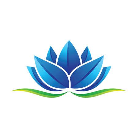 Beauty lotus images illustration design