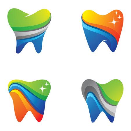 Dental care images illustration design Ilustração