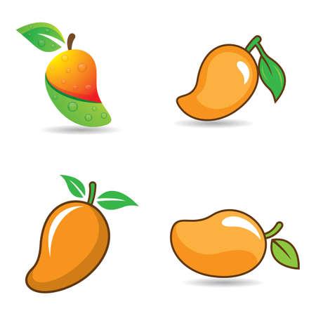 Mango logo images illustration design