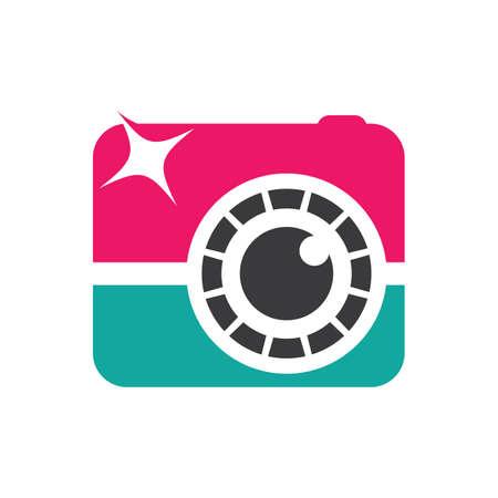 Camera logo images illustration design