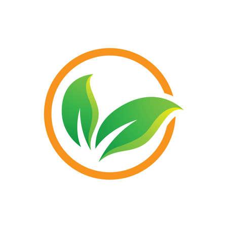 Leaf logo images illustration design