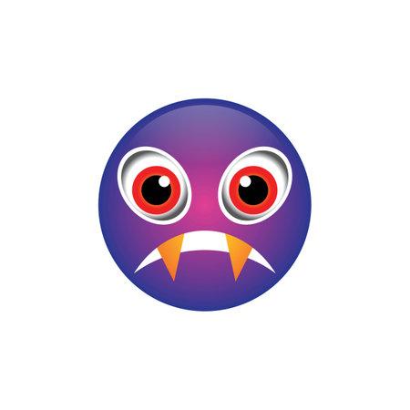 Dracula emoji images illustration design