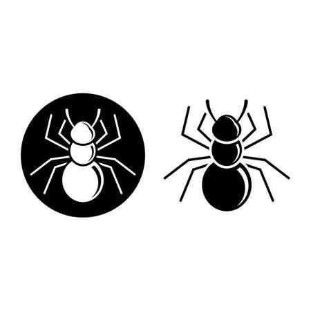 Ant logo images illustration design