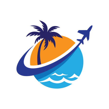 Travel logo images illustration design