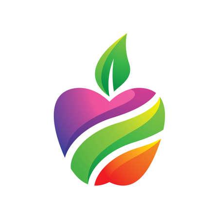Apple logo images illustration design