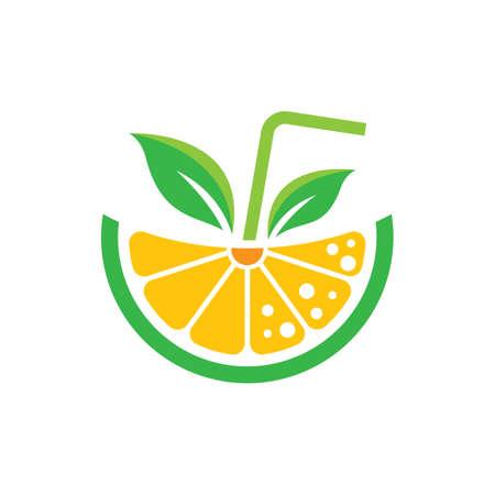 Lemon logo images illustration design 일러스트