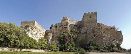 moors: moors castle, salobrena, spain