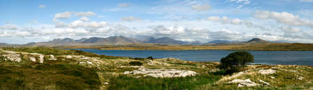 bens: Irish landscape Connemara region