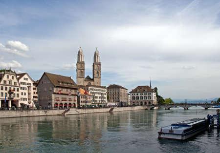 zurich: City of Zurich Stock Photo