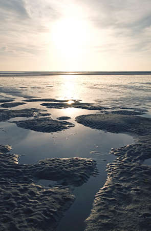 the wadden sea: Wadden Sea Stock Photo