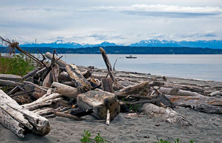 puget: Puget sound and Olympic mountains, USA