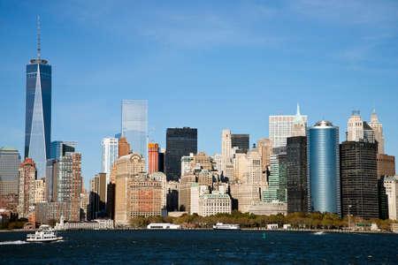 highriser: Skyline of lower Manhattan, NY