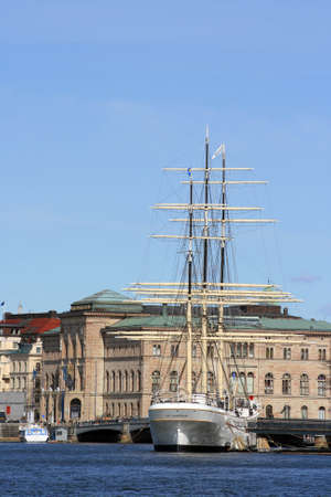 chapman: The af Chapman is a historic sailing vessel with mooring on the island of Skeppsholmen in Stockholm. On the ship a youth hostel is housed in years, which is one of the most popular overnight destinations of the city. Editorial