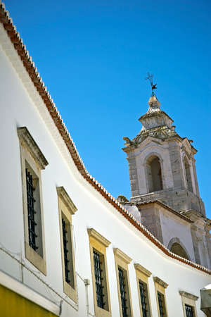 house of god: Part of the Old Town in Lagos, Portugal