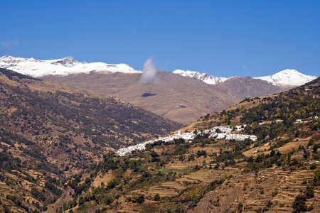 alpujarra: Alpujarra Mountains, Andalusia, Spain Stock Photo