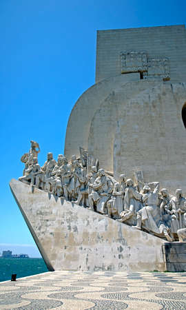 mariner: Monument to the discoveries Stock Photo