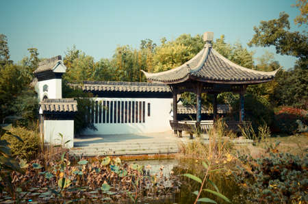 chinese courtyard: Chinese courtyard