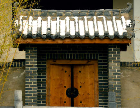 gatehouse: Chinese-style small gatehouse