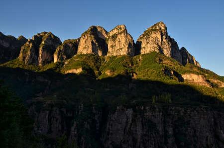 Taihang Mountain scenery