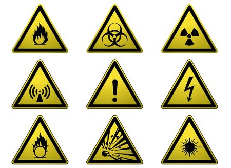 Warning Signs Stock Photo - 3647525