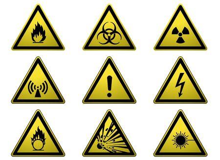 Warning Signs Stock Photo - 3647525