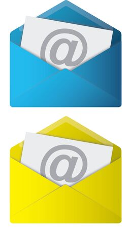 Email Web Icons Stock Photo - 4440820