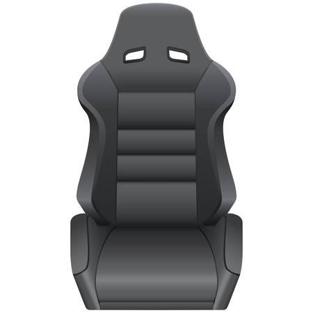 motorizado: asiento de autom�vil  Vectores