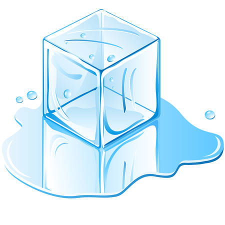 ice cube Stock Vector - 8089587