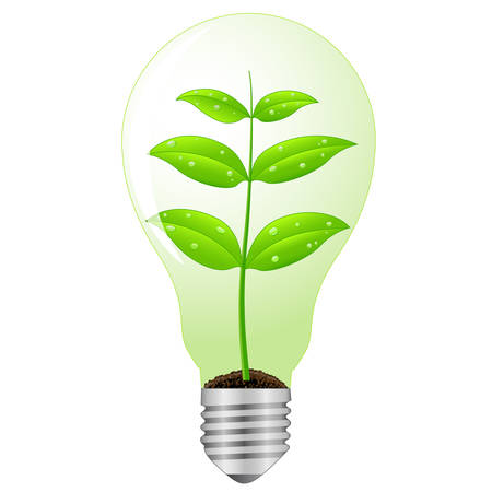 ecological lamp Stock Vector - 8145479