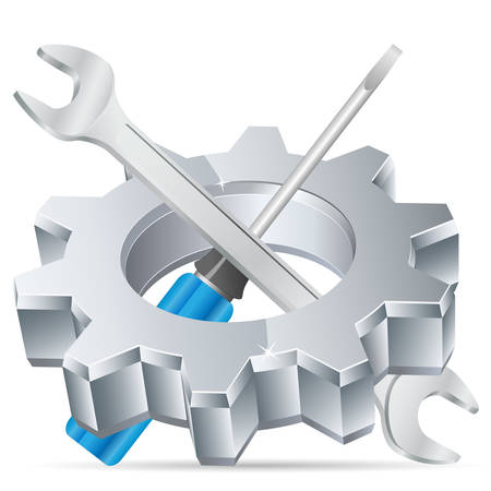 service occupation: tool icon Illustration