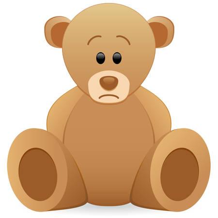 teddy: traurig Teddyb�r