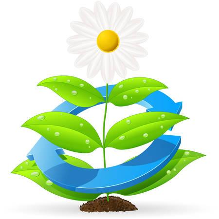 icono contaminacion: guardar la naturaleza Vectores