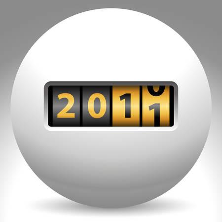 ball counter - 2011 Stock Vector - 8503177