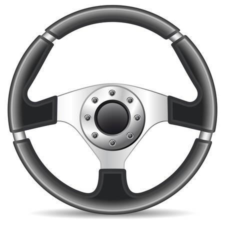koło kierownicy