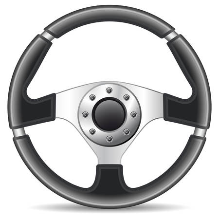 steering wheel Stock Vector - 8503184