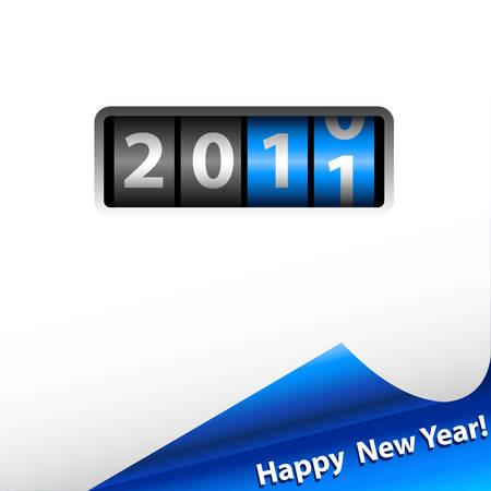 numerator: counter 2011 and blue shiny corner
