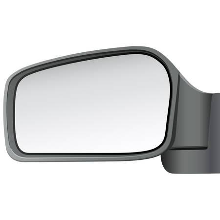 spiegels: geïsoleerde auto spiegel