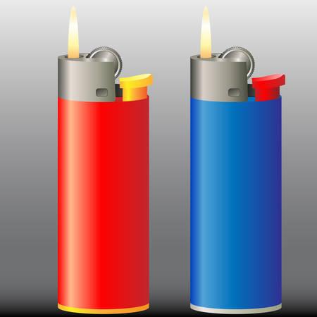 ljusare: burning cigarette lighter