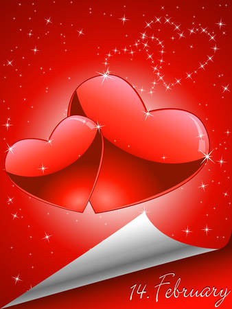 memory of Valentines Day Vector