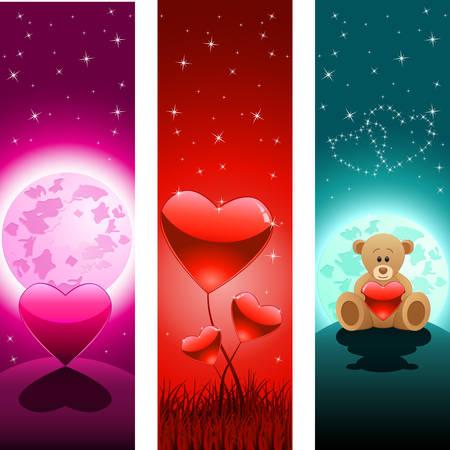 plush: Valentines Day banner