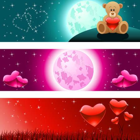 heartache: Valentines Day banner