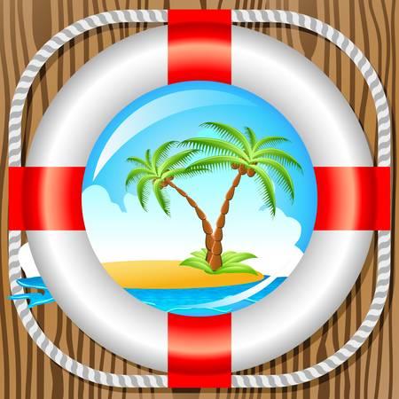 ventana ojo de buey: vacaciones