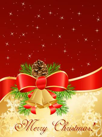 adorn: tarjeta de Navidad Vectores