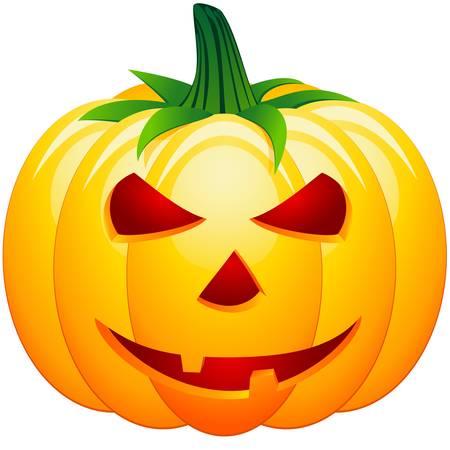 halloween pumpkin  Stock Vector - 10792408
